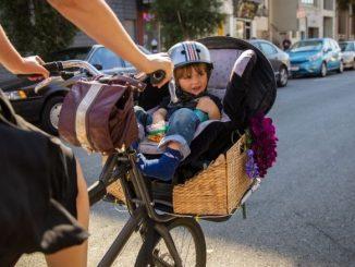 Siège Enfant Vélo Petit Panier En Osier