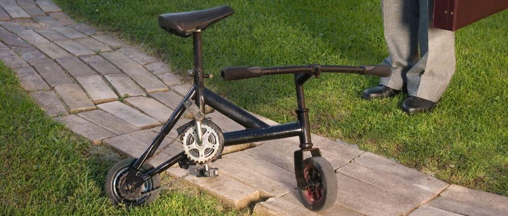 le record du plus petit vélo du monde